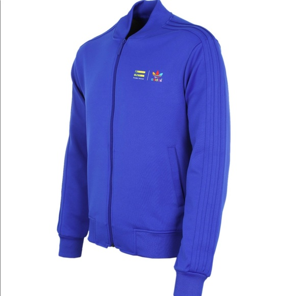 12cb2393f Adidas X Pharrell Mono Color Jacket